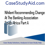 NIHILENT RECOMMENDING CHANGE AT THE BANKING ASSOCIATION SOUTH AFRICA PART A