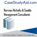 NORMAN NICHOLLS AT SEATTLE MANAGEMENT CONSULTANTS