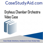 ORPHEUS CHAMBER ORCHESTRA  VIDEO CASE
