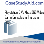 PLAYSTATION 3 VS XBOX 360 VIDEO GAME CONSOLES IN THE US IN 2006