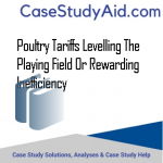 POULTRY TARIFFS LEVELLING THE PLAYING FIELD OR REWARDING INEFFICIENCY