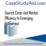 SEARCH COSTS AND MARKET EFFICIENCY IN EMERGING ECONOMIES