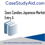 SEES CANDIES JAPANESE MARKET ENTRY A