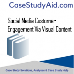 SOCIAL MEDIA CUSTOMER ENGAGEMENT VIA VISUAL CONTENT