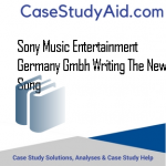 SONY MUSIC ENTERTAINMENT GERMANY GMBH WRITING THE NEW SONG