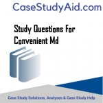 STUDY QUESTIONS FOR CONVENIENT MD