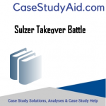 SULZER TAKEOVER BATTLE
