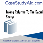 TAKING REFORMS TO THE SOCIAL SECTOR