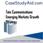 TATA COMMUNICATIONS EMERGING MARKETS GROWTH STRATEGY
