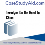 TERADYNE ON THE ROAD TO CHINA