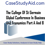 THE COLLEGE OF ST GERMAIN GLOBAL CONFERENCE IN BUSINESS AND ECONOMICS PART A AND B