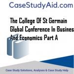 THE COLLEGE OF ST GERMAIN GLOBAL CONFERENCE IN BUSINESS AND ECONOMICS PART A