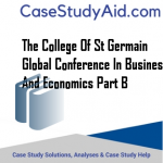 THE COLLEGE OF ST GERMAIN GLOBAL CONFERENCE IN BUSINESS AND ECONOMICS PART B
