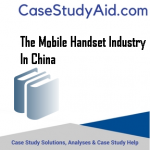 THE MOBILE HANDSET INDUSTRY IN CHINA