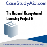 THE NATIONAL OCCUPATIONAL LICENSING PROJECT B