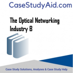 THE OPTICAL NETWORKING INDUSTRY B