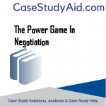 THE POWER GAME IN NEGOTIATION