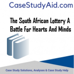 THE SOUTH AFRICAN LOTTERY A BATTLE FOR HEARTS AND MINDS