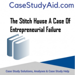 THE STITCH HOUSE A CASE OF ENTREPRENEURIAL FAILURE