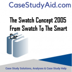 THE SWATCH CONCEPT 2005 FROM SWATCH TO THE SMART CAR
