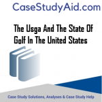 THE USGA AND THE STATE OF GOLF IN THE UNITED STATES