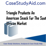 TRIANGLE PRODUCTS AN AMERICAN SNACK FOR THE SOUTH AFRICAN MARKET