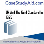 UK AND THE GOLD STANDARD IN 1925