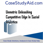 UNMETRIC UNLEASHING COMPETITIVE EDGE IN SOCIAL ANALYTICS