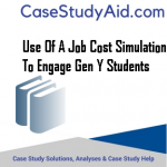 USE OF A JOB COST SIMULATION TO ENGAGE GEN Y STUDENTS