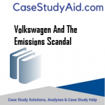 VOLKSWAGEN AND THE EMISSIONS SCANDAL