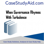 WHEN GOVERNANCE RHYMES WITH TURBULENCE