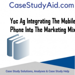 YOC AG INTEGRATING THE MOBILE PHONE INTO THE MARKETING MIX