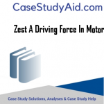 ZEST A DRIVING FORCE IN MOTORS